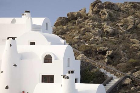 Виллы на острове в Греции