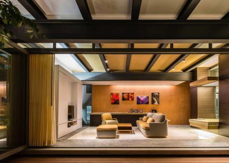 Дом Baan Yo Yen (Baan Yo Yen House) в Таиланде от TACHA_Design.