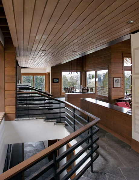 Резиденция Биг Скай (Big Sky Residence) в США от Peter Rose + Partners.