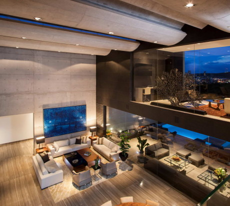 """Дом """"CH"""" (Casa CH) в Мексике от GLR Arquitectos."""