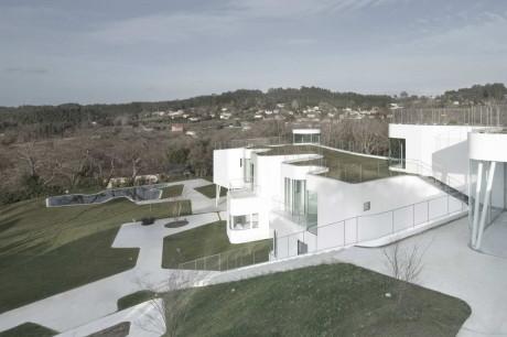 Футуристический дом в Испании