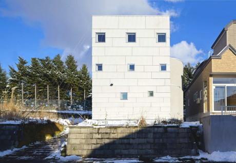 Дом Коробка (House Case) в Японии от Jun Igarashi Architects.