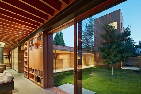 Резиденция на Коттон Стрит (Cotton Street Residence) в США от Spiegel Aihara Workshop.