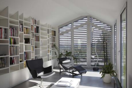 Индивидуальный дом (Individual House) во Франции от N+B Architectes.