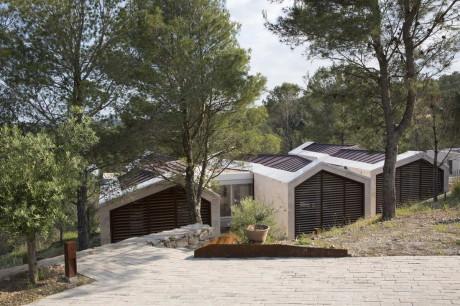 Тройной дом во Франции