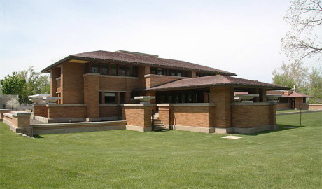 Дом Мартина (Martin House Complex) в США от Фрэнка Ллойда Райта (Frank Lloyd Wright).