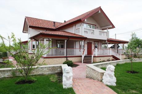 Деревенский дом в России