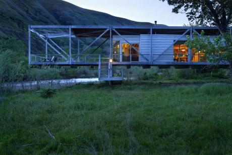 Дом Ривер Плейс (River Place) в США от Paul F. Hirzel.