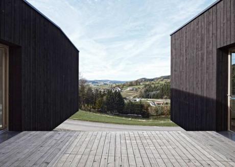 С-Дом (S House) в Австрии от Hammerschmid Pachl Seebacher Architekten.