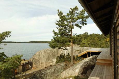Летний дом (Summer House) в Швеции от TEA (Thomas Eriksson Arkitekter).