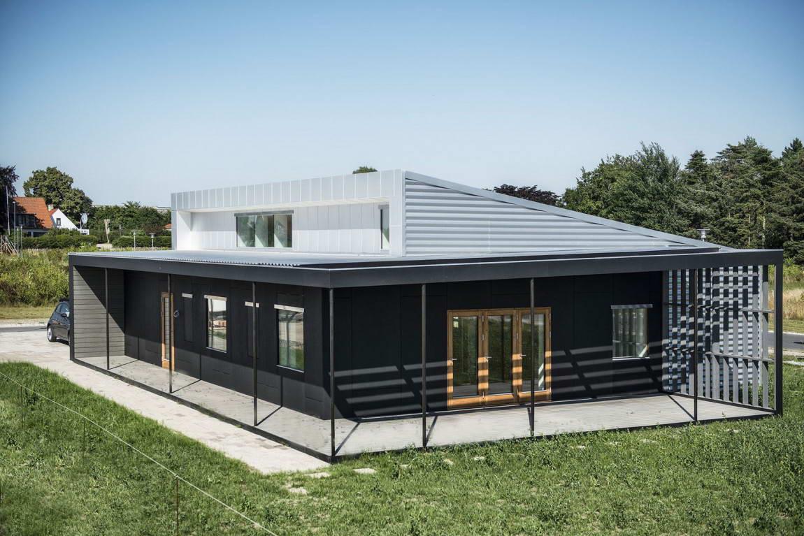 Фото домов с оранжереей