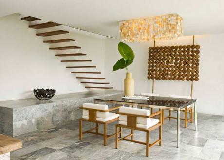 Бамбуковый дом (Bamboo House) в Филиппинах от Atelier Sacha Cotture.