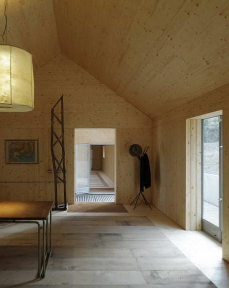 Дом-сарай (Barn House) в Англии от Hugh Strange Architects.