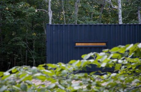 Дом из контейнеров в США