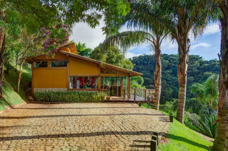 Загородный дом (Country Home) в Бразилии от Ana Cristina Faria и Maria Flavia Melo.