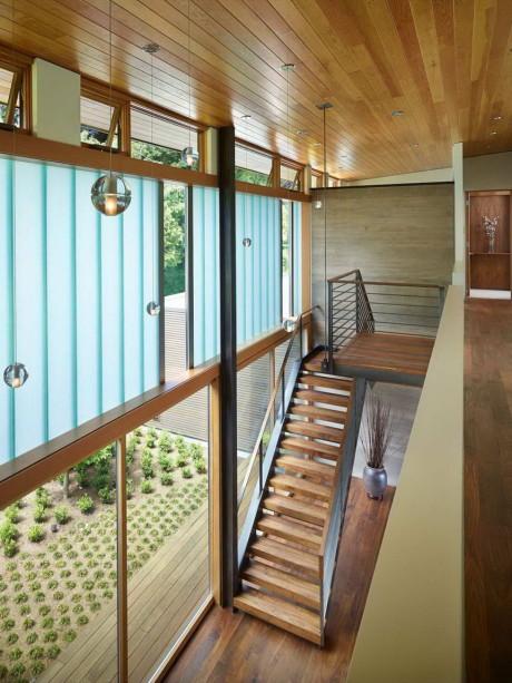 Дом со двором (Courtyard House) в США от DeForest Architects.