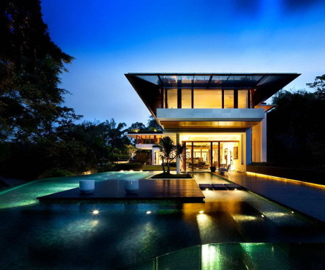Дом на Dalvey Road (Dalvey Road House) в Сингапуре от Guz Architects.