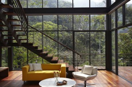 Дом Палуба (Deck House) в Малайзии от Choo Gim Wah Architect.