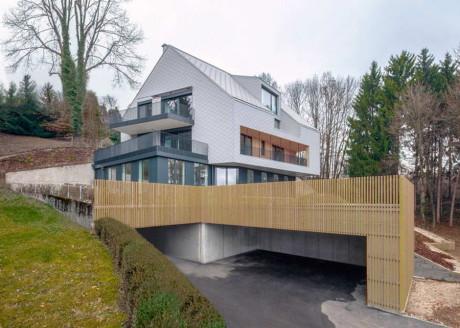 Загородный дом на три семьи в Австрии