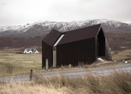 Дом на склоне в Шотландии