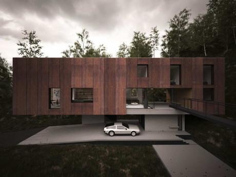 Проект дома для фотографа в Уэльсе