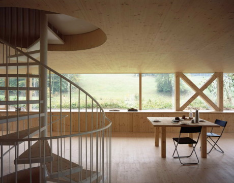 Дом в Бальстале (House in Balsthal) в Швейцарии от Pascal Flammer Architekten.
