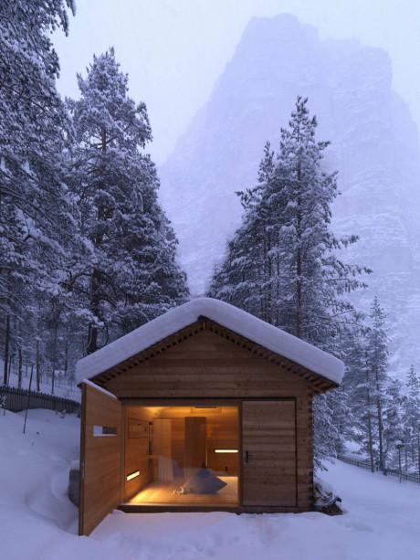 Дом Jagdhaus Tamers в Италии от ЕМ2 Architekten.