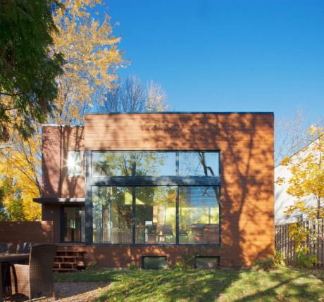 Реконструкция дома в Канаде