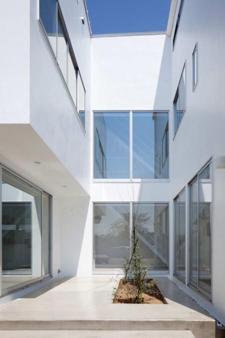 Дом Рябь (Ripple house) в Японии от Kichi Architectural Design.