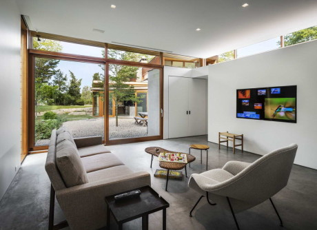 Резиденция Стонингтон (Stonington Residence) в США от Joeb Moore & Partners.