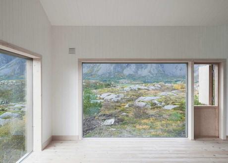 Коттедж Вега (Vega Cottage) в Норвегии от Kolman Boye Architects.