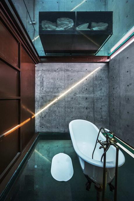 Вертикальный стеклянный дом (Vertical Glass House) в Китае от Atelier FCJZ.