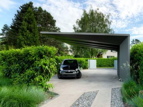 Дом 2LB (2LB House) в Швейцарии от Raphael Nussbaumer Architectes.