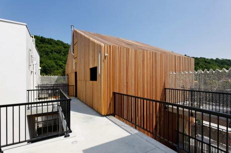 36-квартирный жилой дом (36 logements collectifs familiaux) во Франции от Marjan Hessamfar & Joe Verons Architectes.