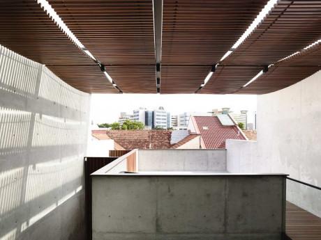 Дом на Belimbing Avenue в Сингапуре от hyla architects.