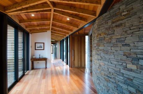 Дом Брюэр (Brewer House) в Новой Зеландии от Sarah Scott Architects Ltd.