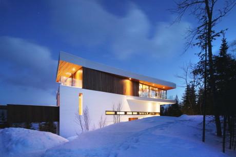 Лесной дом в Канаде