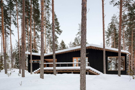 Очень финский домик