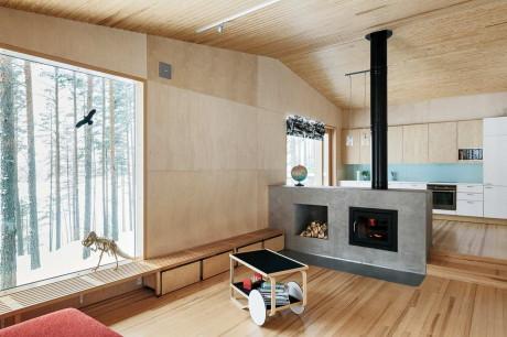 Дом Kettukallio в Финляндии от Playa Architects.