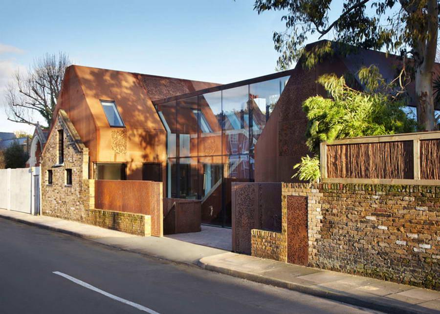 Современные фасады зданий фото