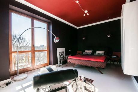 Квартира М44 (M44 Apartment) в Польше от Widawscy Studio Architektury.
