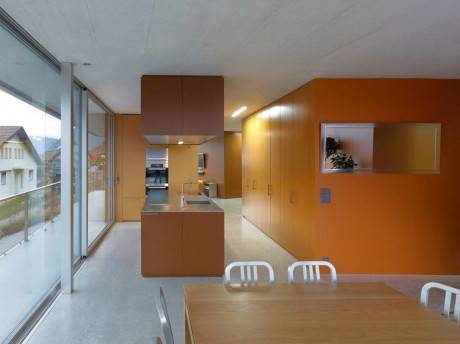 Дом Magliocco (Magliocco House) в Швейцарии от Savioz Fabrizzi Architectes.