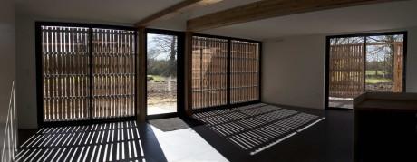 Дом Л (Maison L) во Франции от Atelier 56S.