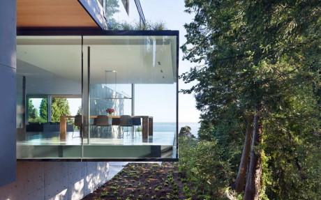 Резиденция Russet (Russet Residence) в Канаде от Splyce Design.