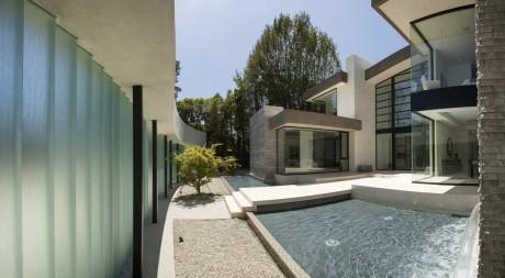 Дом Сан-Висенте (San Vicente House) в США от McClean Design.