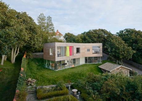 Дом у моря (Seaside House) в Швеции от Elding Oscarson.