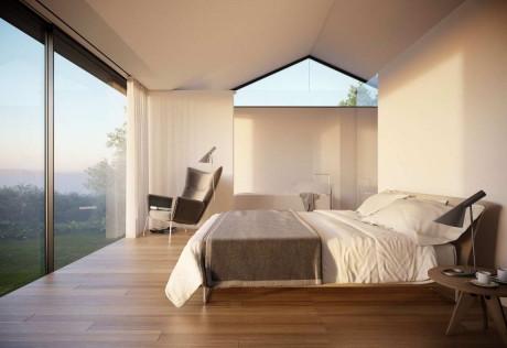Серебряный дом (Silver House) в Уэльсе от Hyde + Hyde Architects.