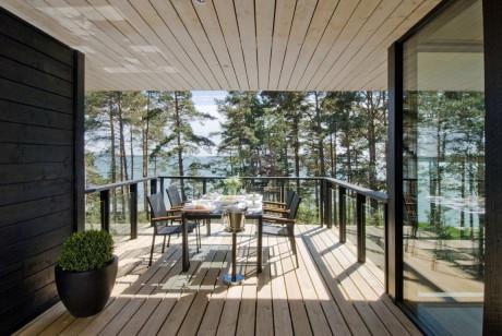 Летний домик (Summer Villa III) в Финляндии от Haroma & Partners.