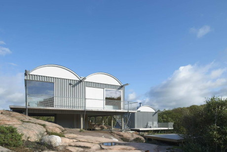 Летние домики (Summer houses) в Швеции от Mats Fahlander.