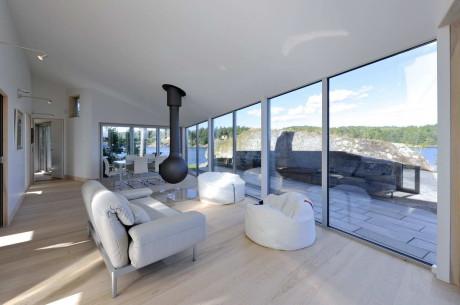 Алюминиевый дом (The Aluminum Cabin) в Норвегии от JVA.